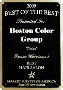 Boston Color Group 2009BestHairSalon