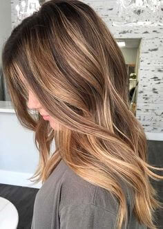 Boston Color Group Hair Color balayage hair coloring technique Inspirational perfect light brunette shade with blonde balayage highlights love
