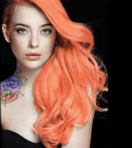 Sherbert hair color